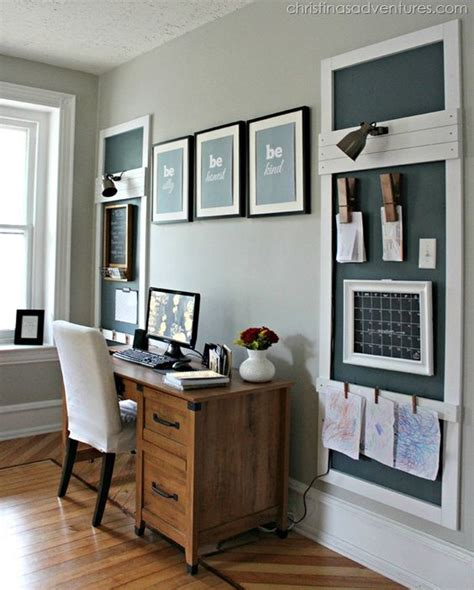 office wall organization 29 creative home office wall storage ideas shelterness 23971