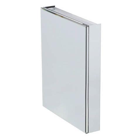 frameless recessed or surface mount bathroom medicine