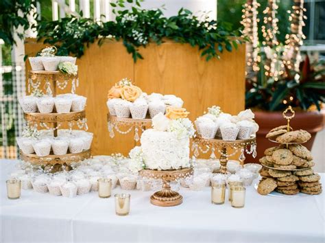 15 Wedding Dessert Tables For Your Wedding Reception