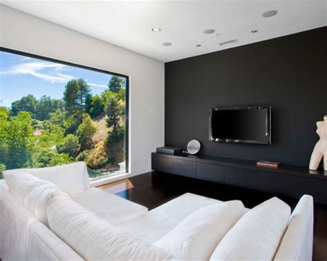 feature  black wall   home  style homes land