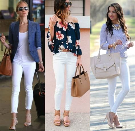 Women Modern Fashion Style With White Skinny Pant