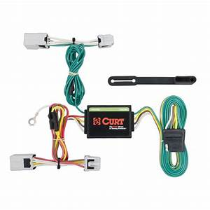 2017 Nissan Versa Note Curt Mfg Trailer Wiring Kit 56206
