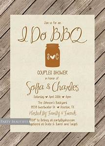 couples or coed wedding shower invitation rustic i do bbq With who do you invite to a couples wedding shower