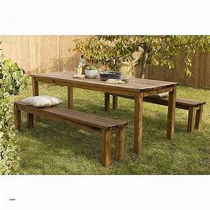 awesome table de jardin teck et inox contemporary With table et chaise design