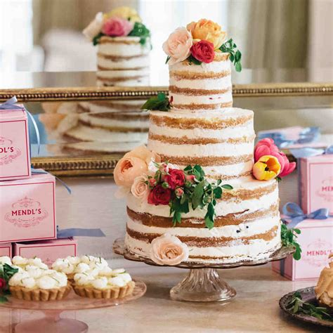 Wedding Cakes And Toppers Martha Stewart Weddings