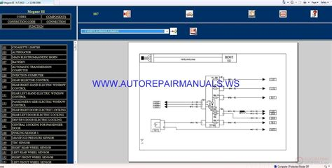 renault megane iii bd95 nt8422 disk wiring diagrams manual 12 09 2008 auto repair manual