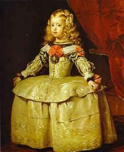 Infanta Margarita - Diego Velazquez Painting