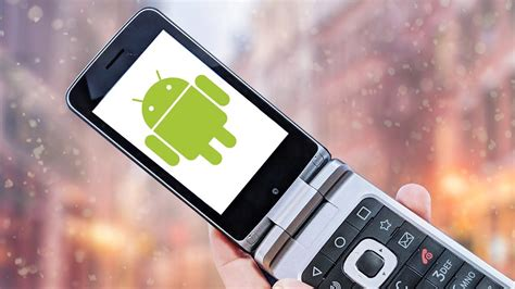 why does an android flip phone exist
