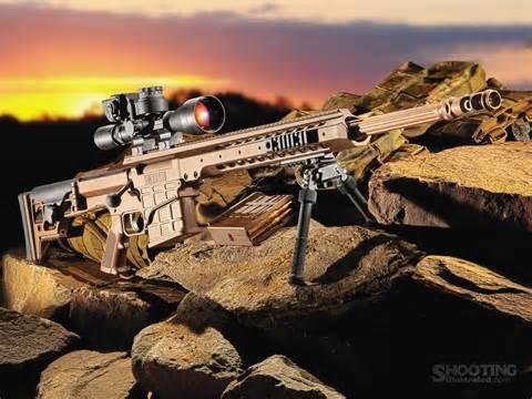 Barrett MRAD 338 Lapua