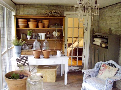 Garden Room Decoration by Shabby Chic Decorating Ideas For Porches And Gardens Hgtv