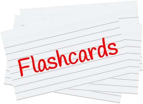 Flashcards  Tips For Student Success