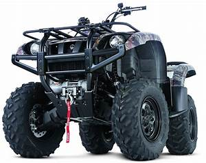 Winch Mount For Yamaha Grizzly Atv