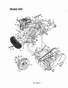 Rear Tine Tiller Page 6 Diagram  U0026 Parts List For Model