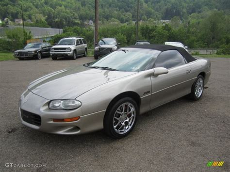 Light Pewter Metallic 2001 Chevrolet Camaro Z28