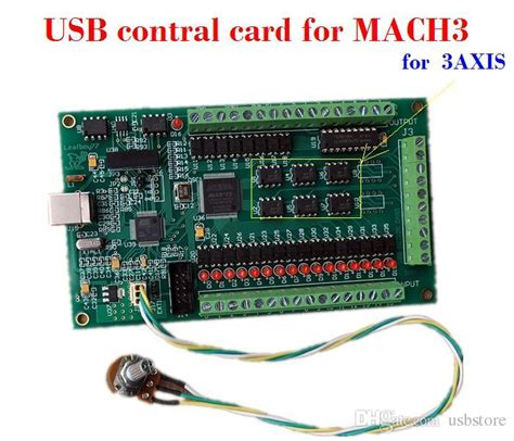 2019 cnc 3 axis mach3 usb smooth stepper breakout board motion controller card module for