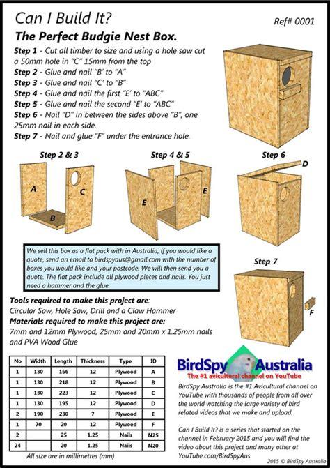 picture budgie nest box budgies bird nesting box