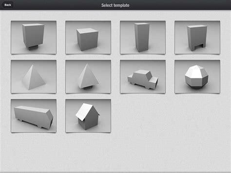 3d printer templates 3d printing with foldify webdesigner depot