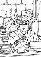 Potter Harry Coloring Pages Chamber Secrets Colors Cartoon Sheets Printable Always Hermione Coloringpagesfun sketch template