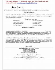 11 Best Dental Assistant Resume SampleBusinessResume