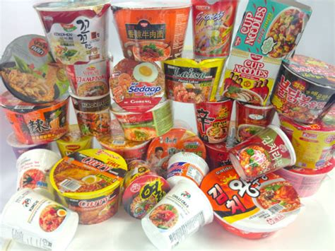 instant cuisine taste test spicy instant cup noodles hungrygowhere