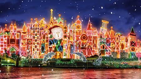 festive holidays christmas celebration disneyland resort
