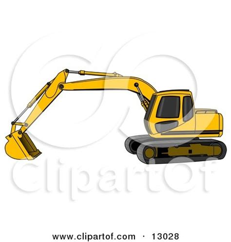 royalty  rf excavator clipart illustrations vector graphics