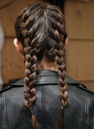 braided pigtails fishtail  french braids