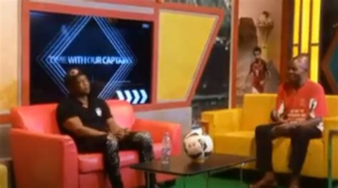 VIDEO: And the 'maestro' Abedi Ayew Pele wept on live TV ...