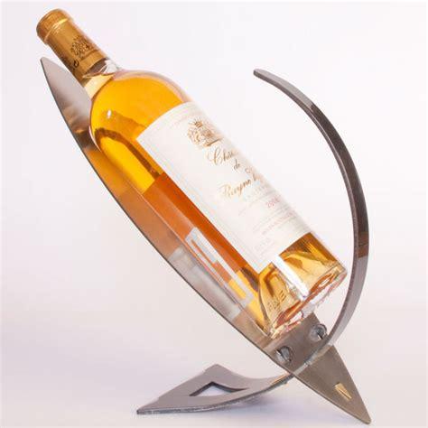 porte bouteille design porte bouteille design en m 233 tal pr 233 sentoir bouteille vin design