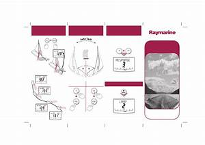 Raymarine Smartpilot St6002 Quick Reference Guide