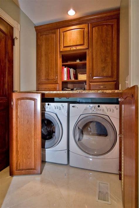 good   hide  washer  dryer custom kitchen