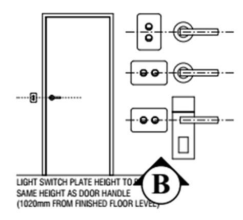 Light Switch Height by Light Switch Height