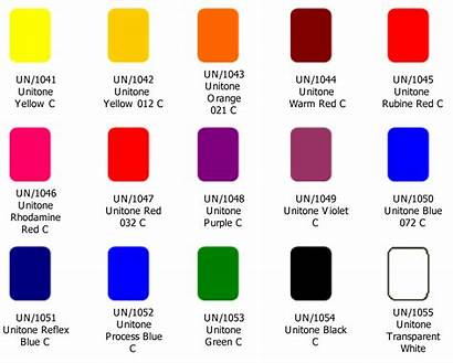 Spot Colours Offset Sheet Inks Colors Printing