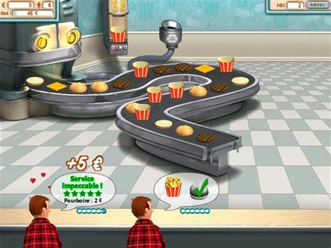 jeu de cuisine hamburger burger shop gt jeu iphone android et pc big fish