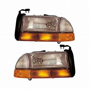 2003 Dodge Dakota Headlight Assembly Pair Pair Of