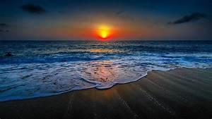 Nature, Landscape, Beach, Sunset, Wallpapers, Hd, Desktop