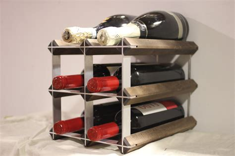 countertop wine rack the weekender countertop wine rack