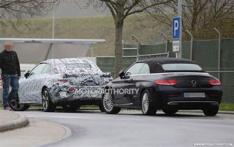 2018 Mercedes-Benz E-Class Cabriolet spy shots