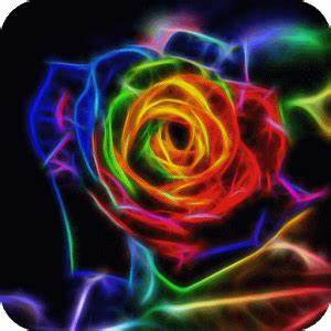 Download Neon rose live wallpaper for PC