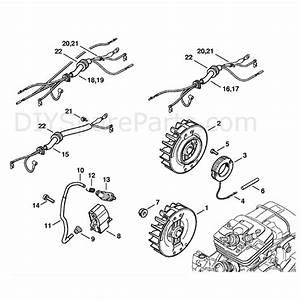 Stihl Ms 361 Chainsaw  Ms361 Vw  Parts Diagram  Ignition