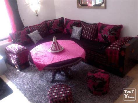 canapé marocain prix salon arabe pas cher canap en cuir noir pour le salon