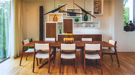 15 Vintage Mid-century Modern Dining Room Designs You're