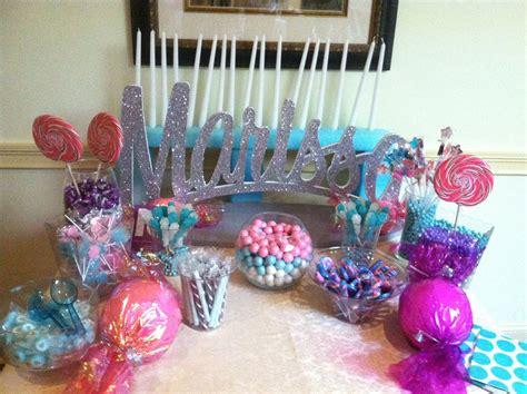 Sweet 16 Centerpiece Candy Buffet Sweet 16 Sweet 16