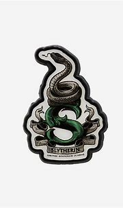 Harry Potter Slytherin S Logo Enamel Pin