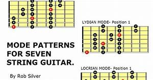 Rob Silver  Mode Patterns For Seven String Guitar