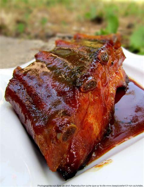 ribs temperature ribs crousti moelleux laqu 233 s avec une sauce aux 233 pices et sirop d 233 rable cuisson basse