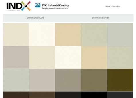 ppg paint color selector ppg kynar color chart steel shelters ayucar