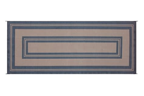 reversible patio mats 502 8 x 20 classic border black