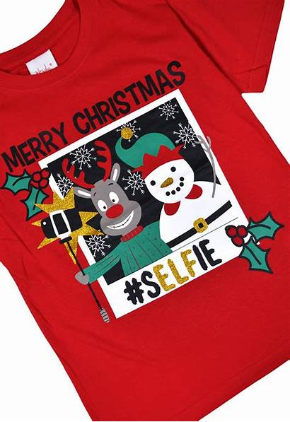 Boys Age Shirts Christmas Navy Xmas