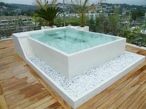 die besten 25 jacuzzi selber bauen ideen auf pinterest With französischer balkon mit sauna und whirlpool im garten